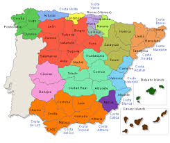 maps of spain maps of spain cities provinces