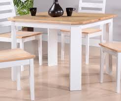 white square kitchen table berlin white natural wood contemporary square kitchen dinette