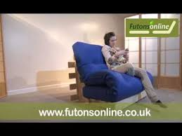 Single Pine Futon Sofa Bed With Mattress Futons Online Show A 2 Seat Pine Futon Sofabed Youtube