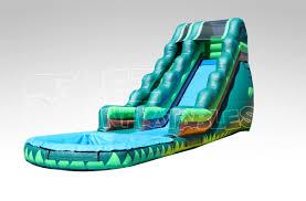 18 u0027 tropical wet u0026 dry water slide ez inflatables
