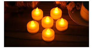 outdoor led tea lights led candle light pack of 12 flickering flameless led tea light