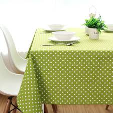 custom dining table covers rustic green big jade dining table cloth thickening canvas cotton