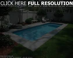 Small Pools For Small Yards by Backyard Pool Designs For Small Yards Home Outdoor Decoration