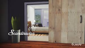 Sims 4 Furniture Sets Scandinavian Bedroom New Set Fixed