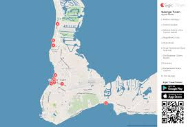 Georgetown Map George Town Printable Tourist Map Sygic Travel