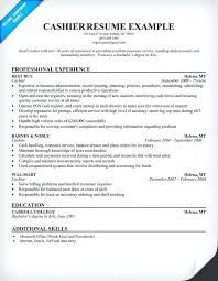 Sample Resume For Csr With No Experience Sample Of Resume For Cashier Cashier Resume Sample Sample Resume