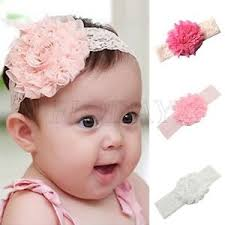 flower hair band kids baby toddler flower headband hair band headwear