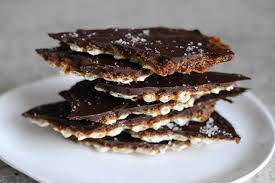 sel de cuisine matzo toffee with fleur de sel whisks and whimsy