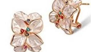 Best Gift For Women Unke Fashion Rose Earrings Best Gift For Girlfriend Pure Handmade