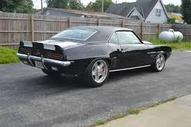 1969 camaro restomod for sale chevrolet camaro coupe 1969 black for sale 124379n523101 1969