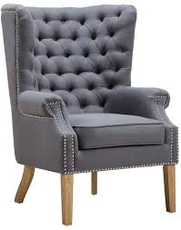grey linen chair abe grey linen wing chair from tov tov a2040 coleman furniture