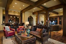 Rustic Family Room Decorating Ideas For Winter  Home Decor - Family room decoration ideas