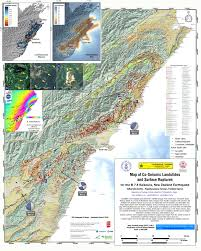U Of M Map A Revised Landslide Map For The M U003d7 8 Kaikoura Earthquake The