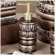 Cheetah Print Bathroom Set by 26 Remarkable Safari Bathroom Decor Picture Inspirations Yoyh Org
