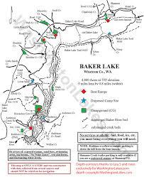 Map Of Lake Washington by Bakerlake Information Northwest Fishing Reports