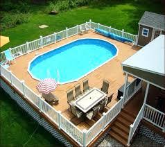 Above Ground Pool Design Ideas Inground Pool Deck Designs More Above Ground Pool Deck Designs