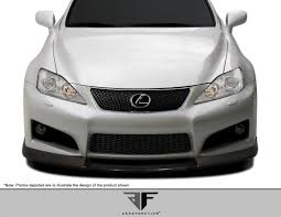 lexus isf bumper lexus is series front bumpers body kit super store ground