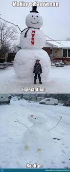 Snowman Meme - i always make a fail snowman by curlyq meme center
