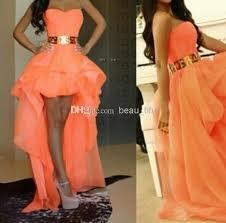 fashion gold belt evening gowns sweetheart pretty girls dress