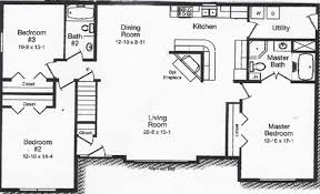 two bedroom floor plans house open floor ranch house plans homes house of paws
