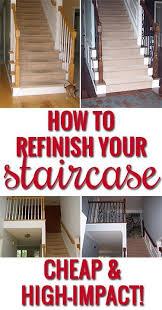Best Paint For Stair Banisters 84 Best Staircase Makeovers Images On Pinterest Stairs