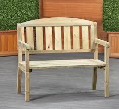 awesome small outdoor wooden bench small garden bench dennenbos