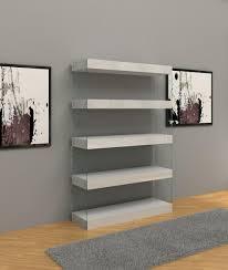 modern white bookcase home design ideas