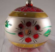 vintage antique mercury handblown christmas ornaments poland hand