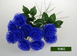 send roses diy screen flowers bluelover 30 send roses flower lover gift for