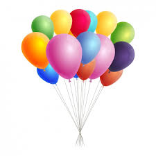 free balloons coloured balloons background vector free