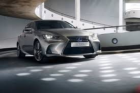 lexus is spot the difference facelifted lexus is saloon revealed at paris