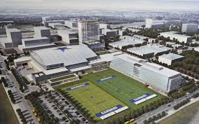 Dallas Cowboys Stadium Map by Cowboys U0027 New Complex Will Be Called The Ford Center At The Star