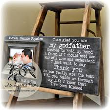 godfather gift godfather frame baptism gift for godparents will