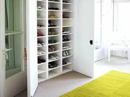 coat and shoe storage cabinet hidden shoe rack storage behind coat