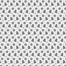 christmas pattern christmas tree and snowflake seamless vector pattern creative nerds