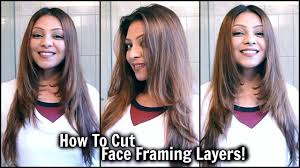 find a hairstyle using your own picture how to cut face framing layers at home diy long layered
