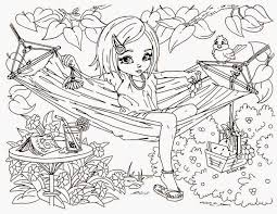 difficult for girls free coloring pages on art coloring pages