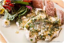 cuisiner le carrelet filet de carrelet à la provençale la cuisine du jardin