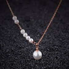 pearl necklace gifts images Choker necklace simulated pearl jewelry gifts for women stainless jpg