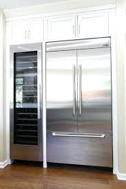fridge that looks like cabinets refrigerator large side by side refrigerator extra large side by