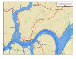 Map Of Dayton Ohio by 1937 Ohio River Flood City