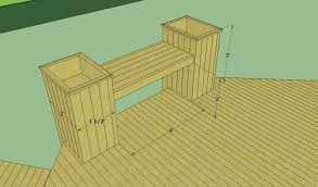 building deck benches nail red room interiors accrington