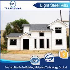 Prefabricated Home Kit Custom Design Eco Friendly Prefabricated Home Kit Villa Style