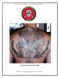 mexico anti gang program latino gang tattoos guide public