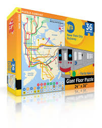 Mta Map Subway Mta Subway Kids U2013 New York Puzzle Company