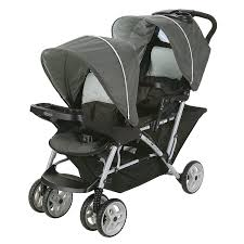 Stroller Canopy Replacement by Graco Duoglider Click Connect Lightweight Double Stroller Glacier