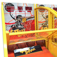 street basketball my games room party hire