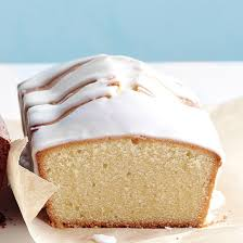 citrus glazed pound cake