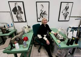 seamstress jobs ex latvian police officer a skilled seamstress opens tailor shop