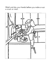food safety coloring pictures to print brandsomasz com